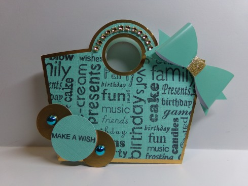 Birthday Purse Gift Card Holder