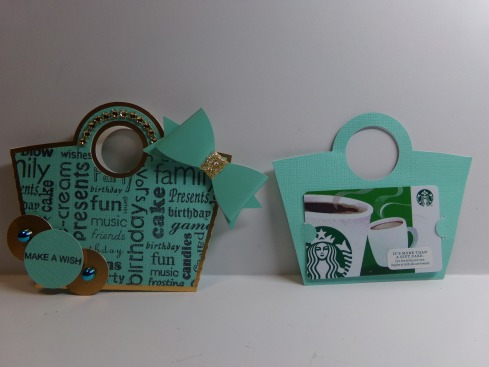 Birthday Purse Gift Card Holder and Insert