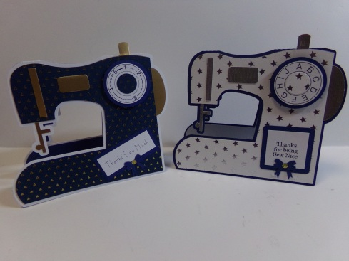 Sewing Machine Cards
