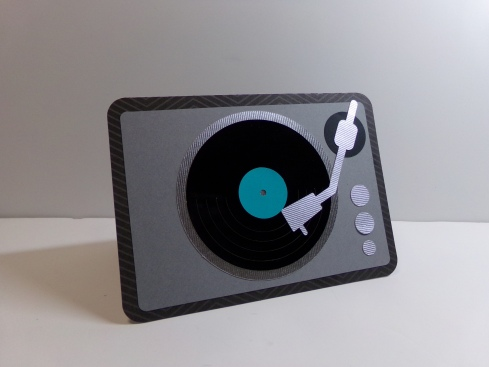 Man Card Mondays Retro Turntable