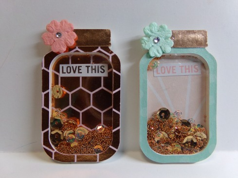 Mini Mason Jar Shaker Embellishments