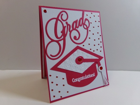 Graduation Pop Up Card Front