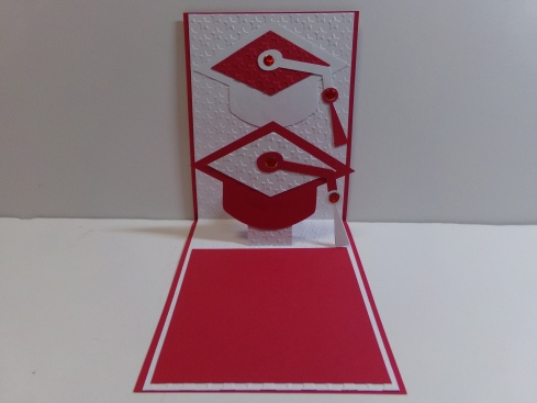 Graduation Pop Up Card Inside