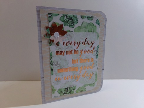 Flower Pop Up Card Front