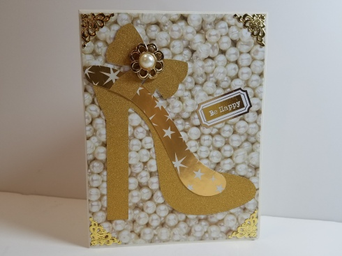 Posh High Heel Card