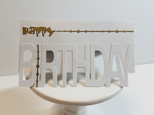 65th Birthday Gift Card Holder