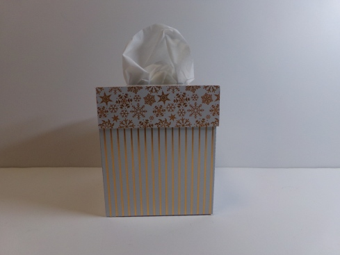 Tissue Box Cover Back