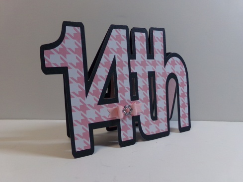 14th Word Shaped Card 1