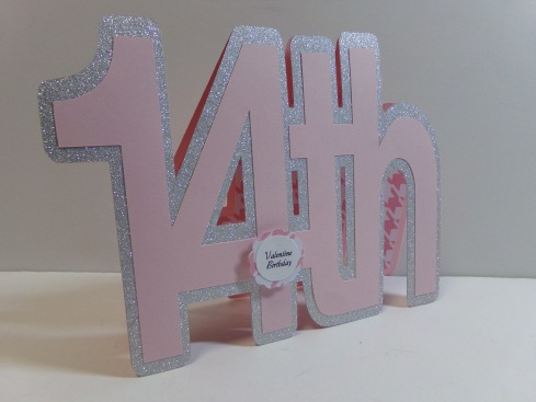 14th Word Shaped Cards 2
