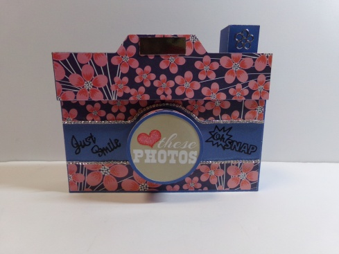 Camera Shaped Keepsake Box