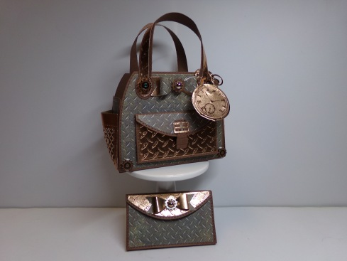 Steampunk Timeless Tote and Wallet