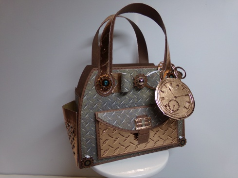 Steampunk Timeless Tote Front