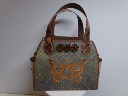 Steampunk Timeless Tote Back