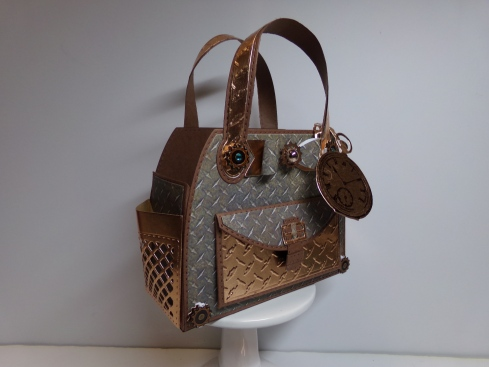 Steampunk Timeless Tote Side