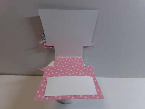 Typewriter Shaped Card Inside