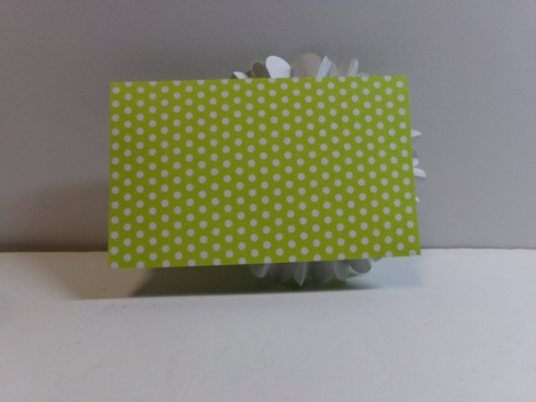 Rosette Gift Card Holder Back