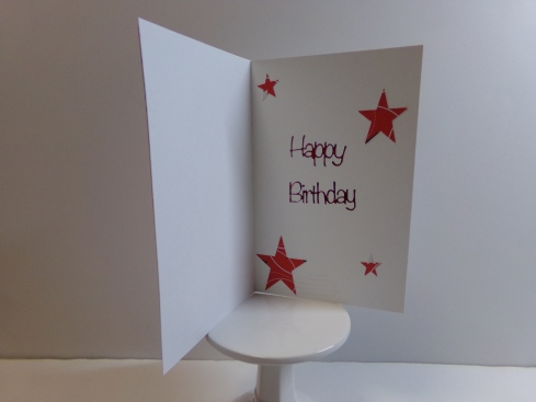 Everyday Shapes Window Card Topper Card - Star Inside