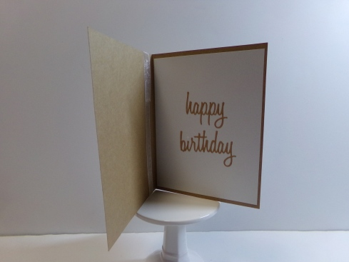 Everyday Shapes Window Card Topper Card - Flower Inside