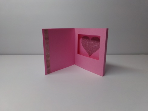 Mini 3D Shadow Box Card