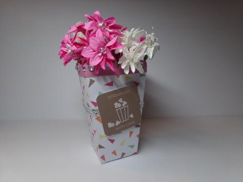 Popcorn Box Vase