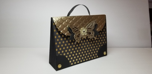 Elegant Quilted Flap Handbag for Stuff It Collab March